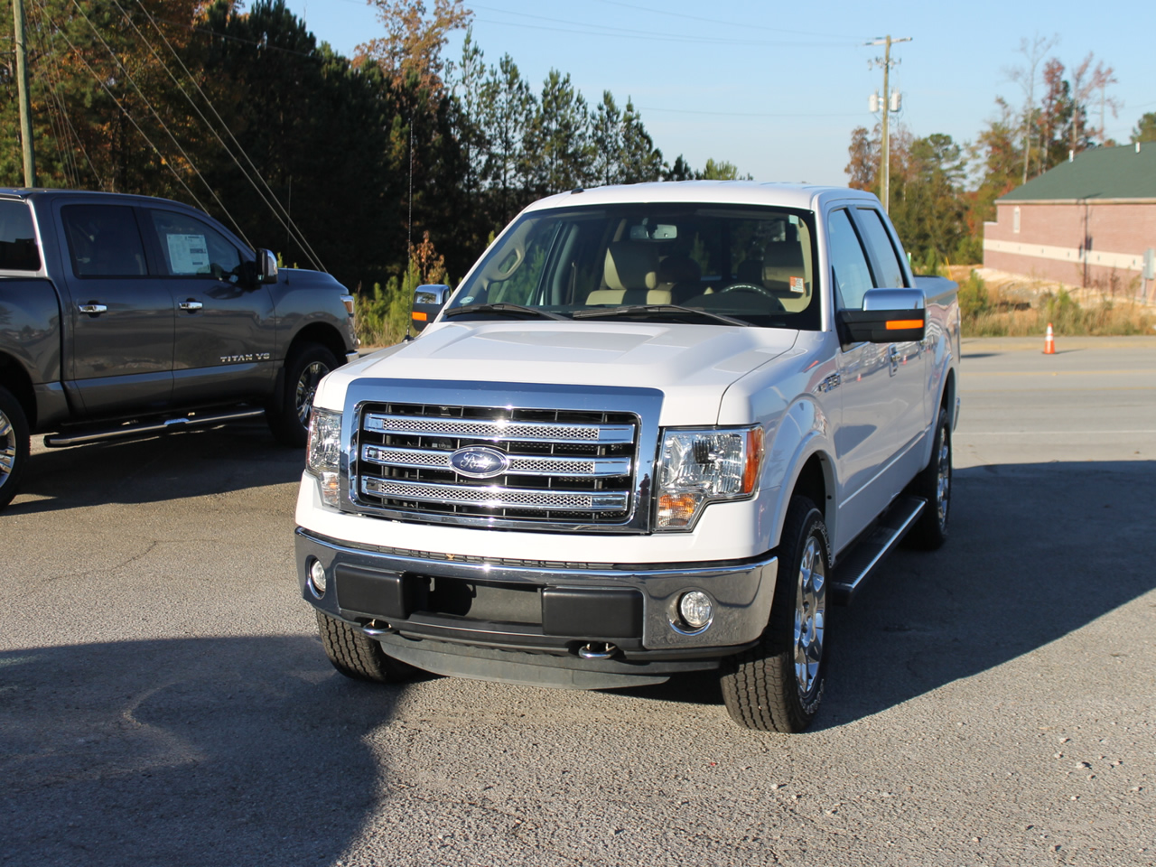2014 FORD F-150 SUPERCREW LARIAT 4WD